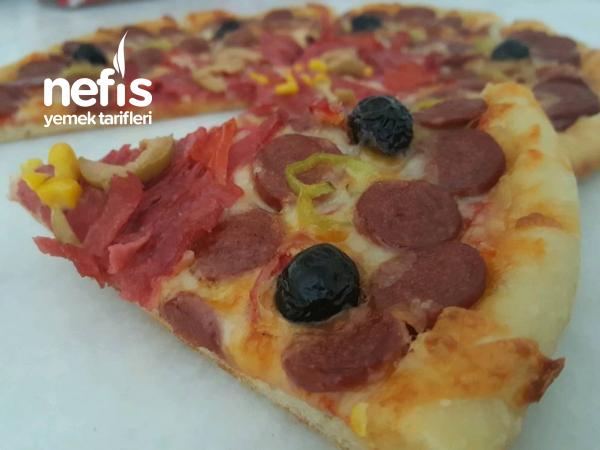 Evde Sağlıklı Pizza