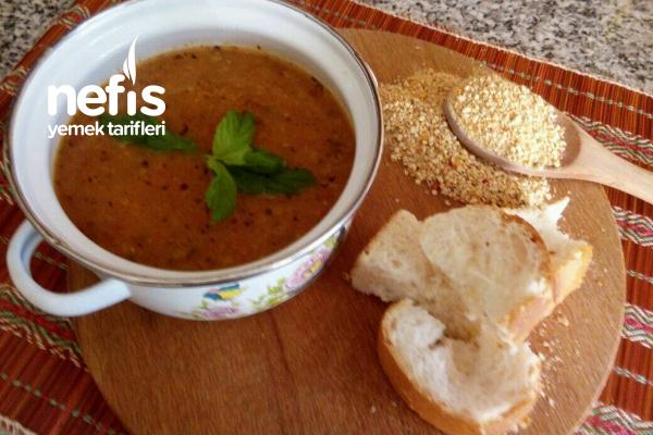 Tarhana Çorbası ( Kavurma Yöntemi İle ) Tarifi