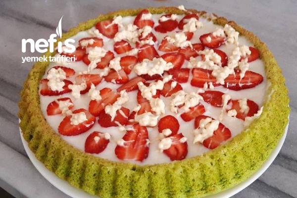 Ispanaklı Tart Pasta Tarifi