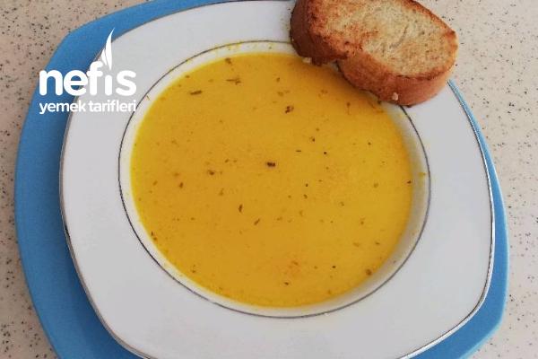Havuç  Çorbası Sütlü