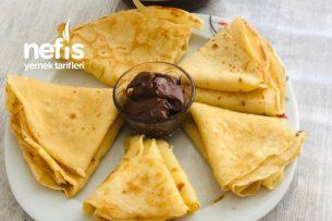Kahvaltılık Krep (En Pratik ) Tarifi