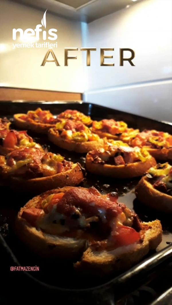 Kahvaltılık Pratik Pizza