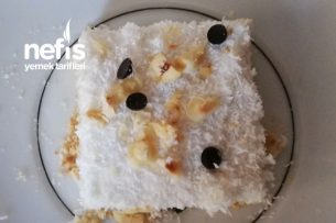 Pratik Tepside Saray Lokumu Pasta Şeklinde Tarifi
