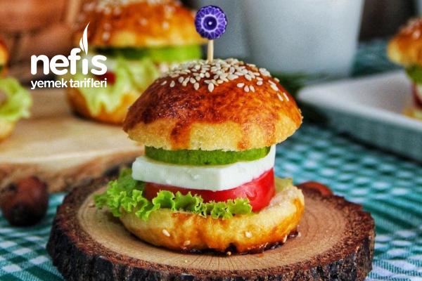 Sandviç Poğaça (Videolu) Tarifi