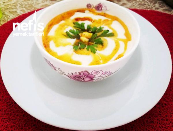 Sütlü Mısır Çorbası(7'den 77'ye Herkesin Bayılacağı Çorba)