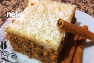 Havuçlu Cevizli Tarçınlı Pasta Tarifi