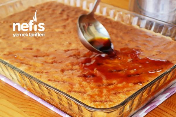 Müthiş Lezzetli Karamelli Tatlı Yapımı (videolu)