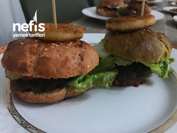 Üç Renkli Hamburger