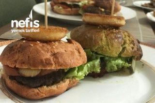 Üç Renkli Hamburger Tarifi