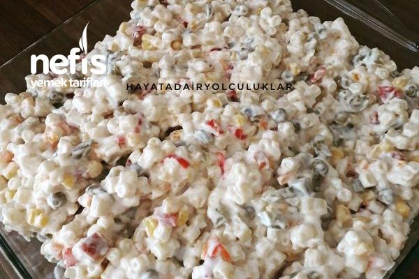 Beğeni Rekoru Kıran Makarna Salatası Tarifi