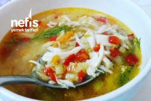 Sebzeli Tavuk Çorbası (Şifa Deposu) Tarifi