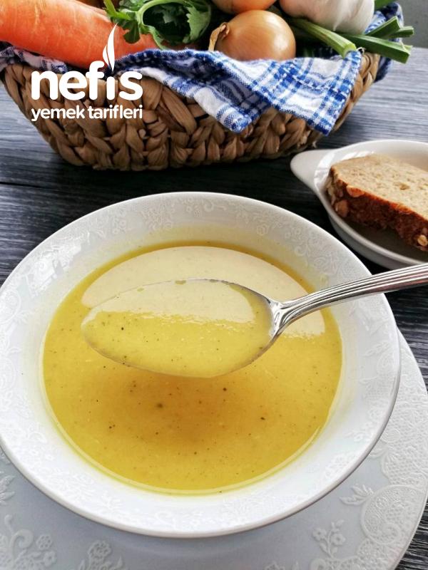 Vitamin Deposu Çorba (Kereviz, Patates, Havuç Ve Mercimek)