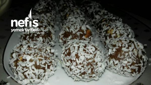 Bisküvili Çikolatalı Toplar ( Çok pratik muhteşem lezzet )