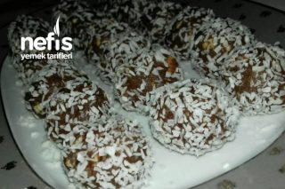 Bisküvili Çikolatalı Toplar ( Çok Pratik Muhteşem Lezzet ) Tarifi