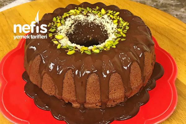 Bol Çikolatalı Kek (Toz Pudingli) Tarifi
