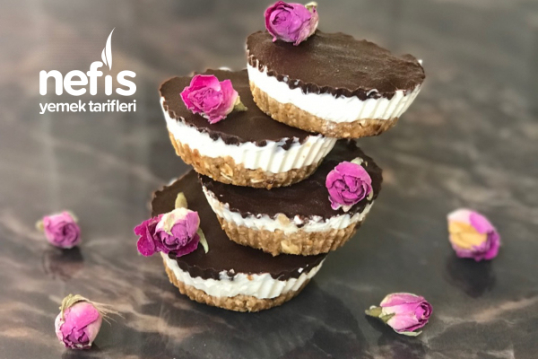 Çikolatalı Fit Cheesecake Tarifi