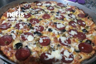 Evde Pizza Yapımı Tarifi