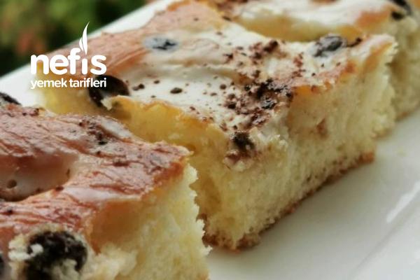 Nefis Soslu Elmalı Pasta Tarifi