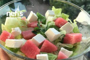 Proteinli Karpuz Salata Tarifi