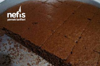 Sütsüz Pudingli Browni Tadında Kek Tarifi