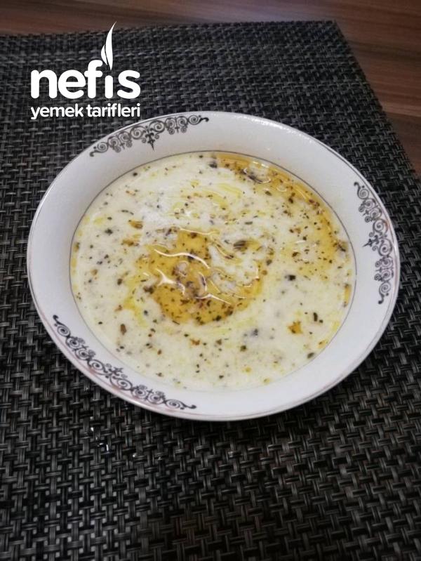 Tel Şehriyeli Yoğurt Çorbası(et sulu)