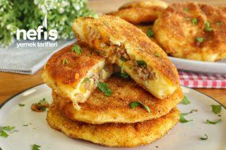 Lezzetinden Parmak Yedirten Kıymalı Patates Köftesi (videolu) Tarifi