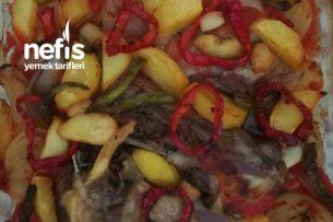 Sebzeli Kaburga Fırında Tarifi