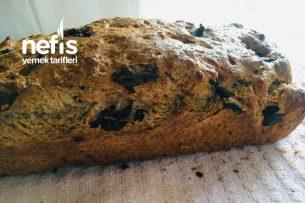 Zeytinli Sağlıklı Ekmek Tarifi