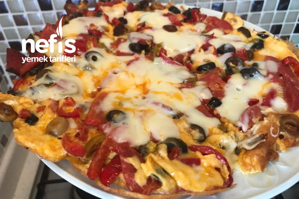 Kahvaltılık Nefis Pizza Tarifi