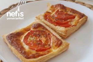Kahvaltıya Çok Lezzetli Pratik Milföy Tarifi