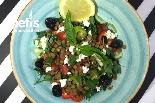 Lorlu Proteinli Salata Tarifi