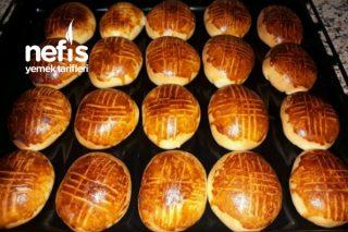 Pastane Poğaçası ( Hamuru Akşamdan ) Tarifi