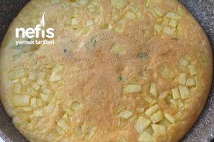 Patatesli Yumurtalı Tava Keki Tarifi