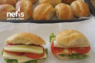 Sandviç Ekmek Somun Ekmek Tarifi