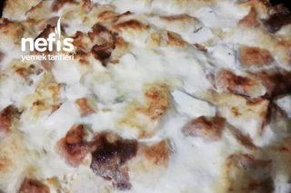 Yoğurtlu Kıymalı Bayat Ekmek Böreği Tarifi