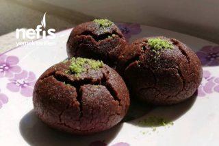 Çikolata Parçalı Browni Kurabiye Sütlü Tarifi