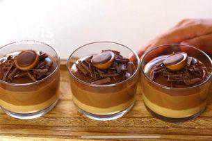 Çikolatalı Karamelli Puding (Bu Lezzete Bayılacaksınız) Tarifi