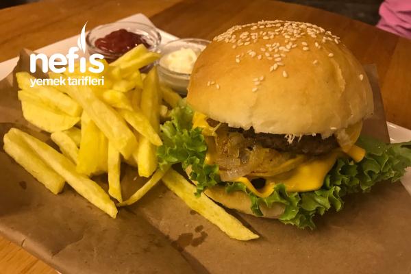 Ev Yapımı Hamburger Ekmeği Ve Köftesi Tarifi