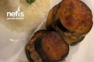 Fırında Patlıcan Burger Tarifi