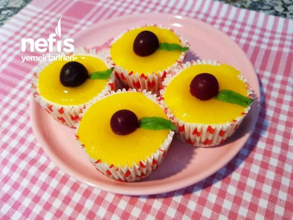 Limonlu Mini Cheesecake