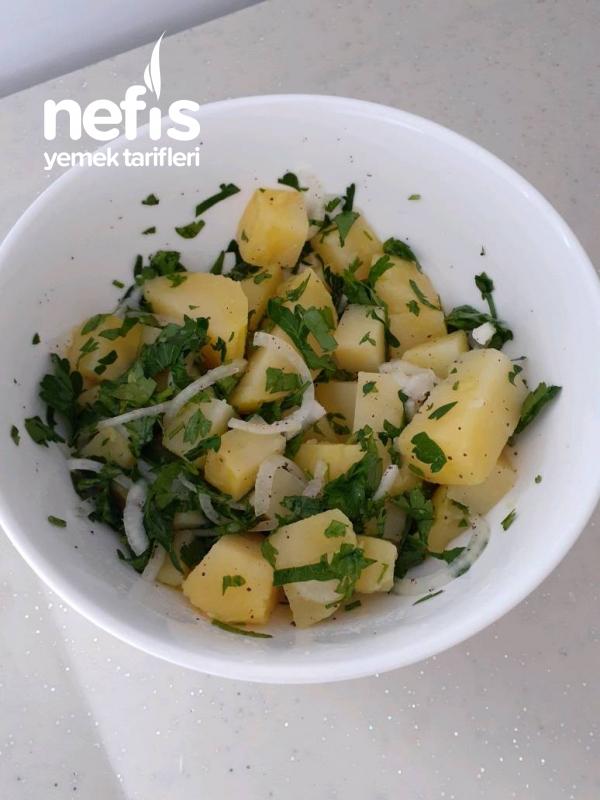 Pratik Patates Salatası