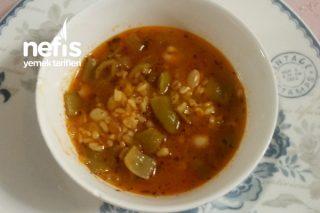 Bulgurlu Yeşil Fasulye Çorbası Tarifi