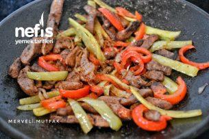 Et Fajita (Aşçıları Kıskandıran Lezzet) Tarifi