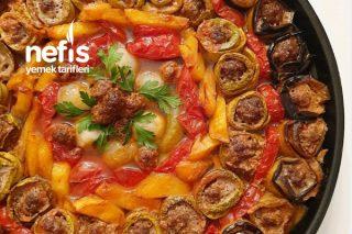 Köfteli Rulo Sebze Kebabı Tarifi