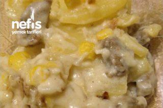 Patates Graten (Etli) Tarifi