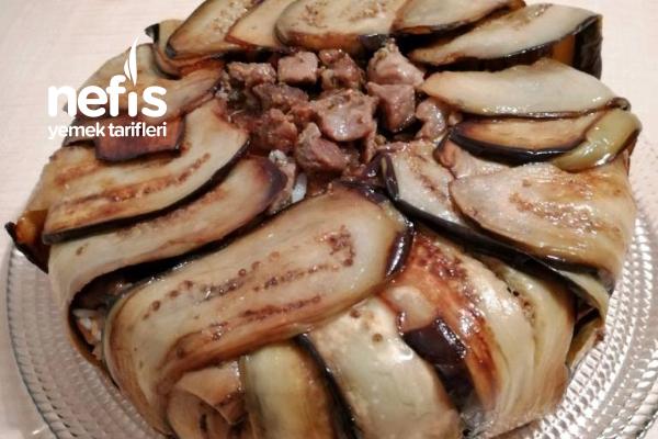 Patlıcanlı Perde Pilavı Tarifi