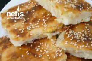 Sütsüz Peynirli Tepsi Böreği Tarifi (Videolu)
