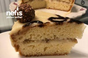 En Kolayından Kremalı Pasta (Doğum Günü Pastası) Tarifi