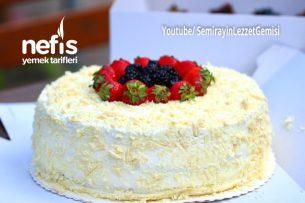 Meyveli Devasa Doğum Günü Pastası (Videolu) Tarifi