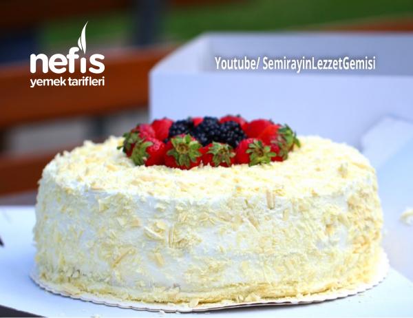 Meyveli Devasa Doğum Günü Pastası